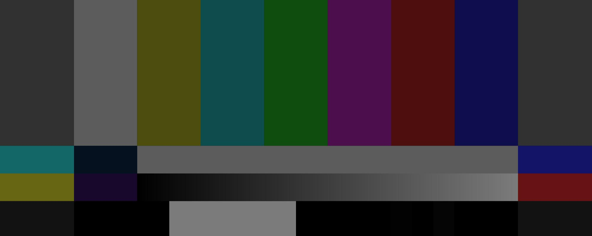 NTSC Color Bars