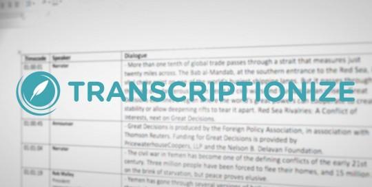 Transcriptionize Thumbnail